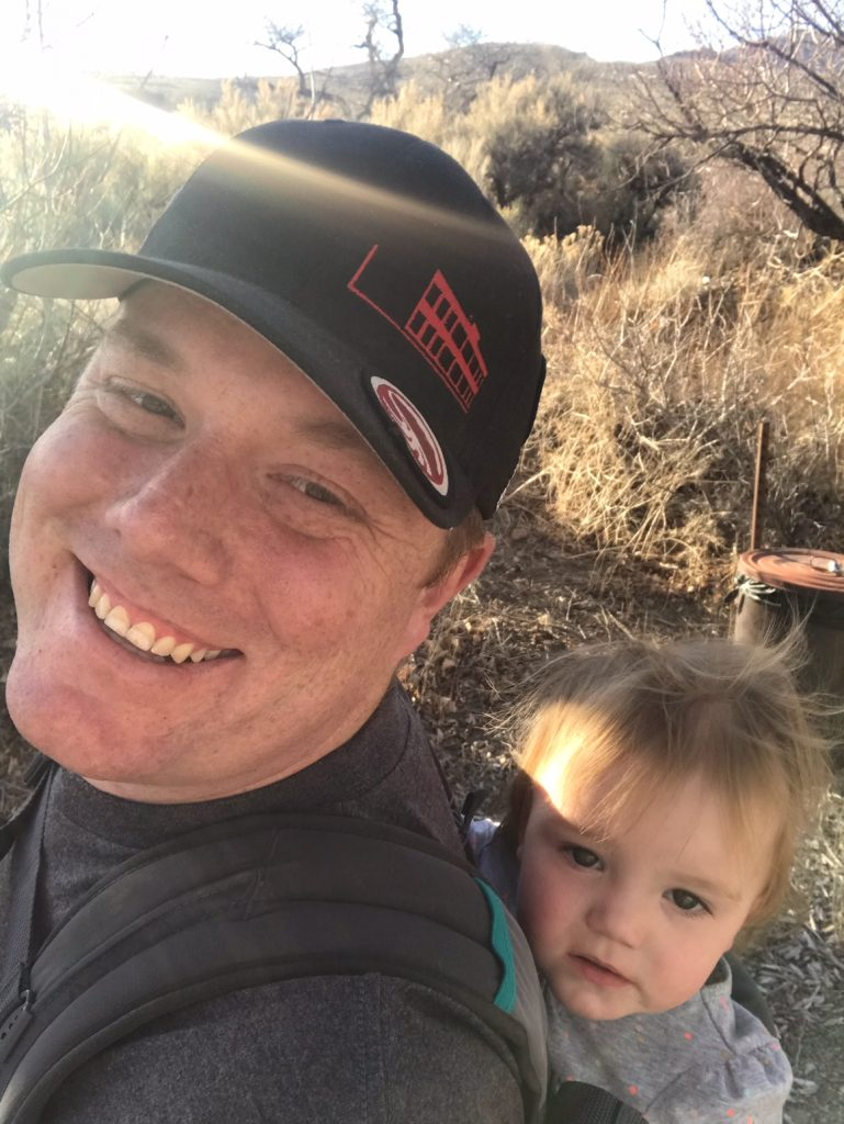Daddy Daughter hike
