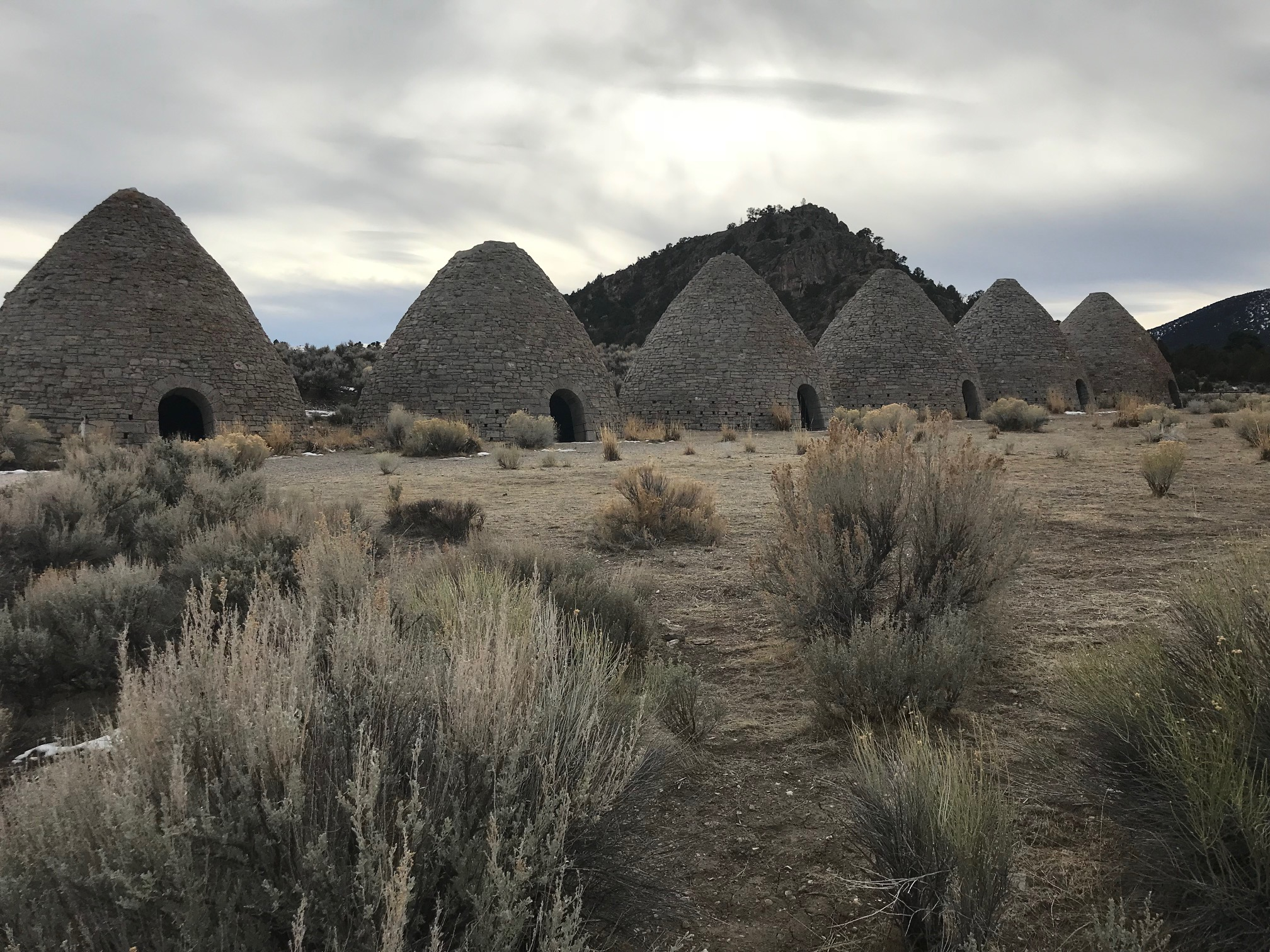 NV State Park Series – Ward Charcoal Ovens